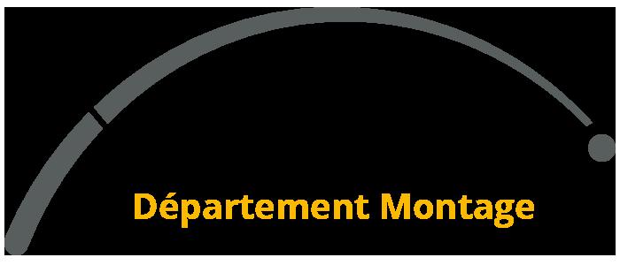 Departement-montage